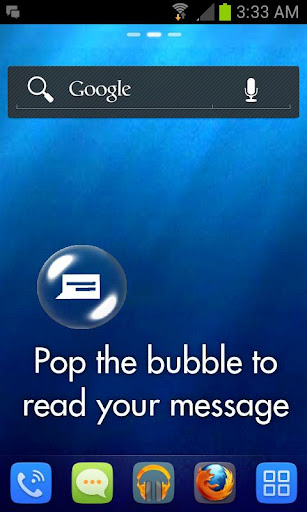 SMS Bubbles Live Wallpaper