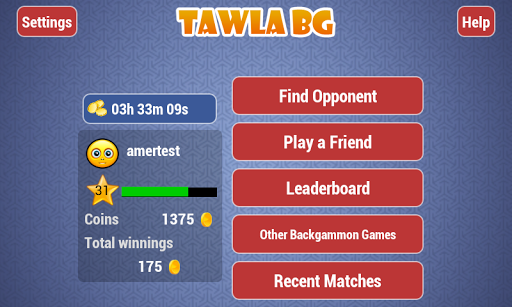 Tawla Backgammon 3.8 screenshots 2