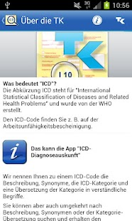 ICD-10 Diagnoseauskunft - screenshot thumbnail