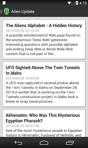 Alien Update