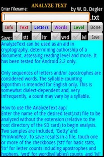 Analyze Text