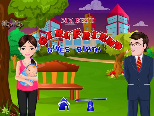 My best girlfriend gives birth