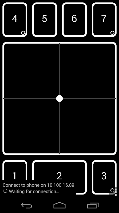 DroidPad: PC Joystick & mouse - screenshot