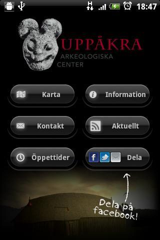 Uppåkra - screenshot