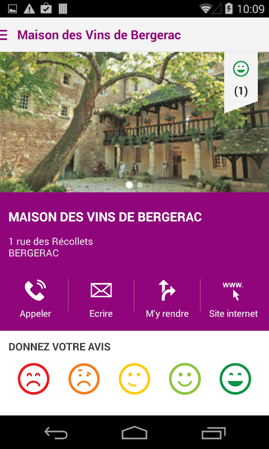 Pays de Bergerac Tour- screenshot