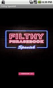 Filthy Phrasebook Spanish