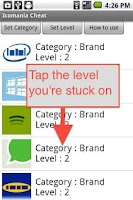 Screenshot of Icomania Cheat - All Answers