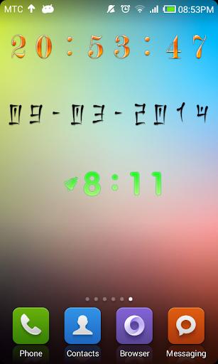 Decor Digital Clock