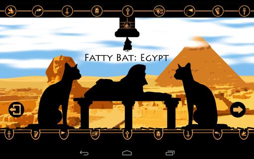 Fatty Bat: Egypt No Ads