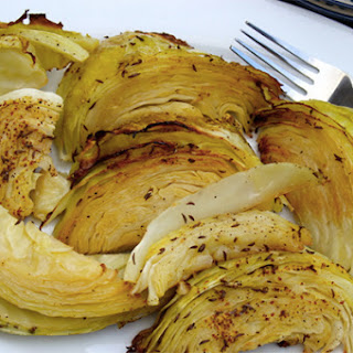 Dijon Roasted Cabbage.