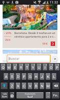 Screenshot of LetsBonus Ofertas y Descuentos