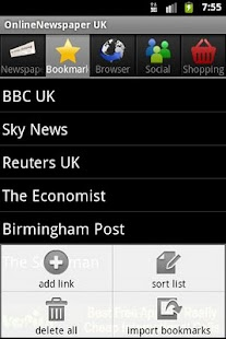 OnlineNewspaper UK - screenshot thumbnail