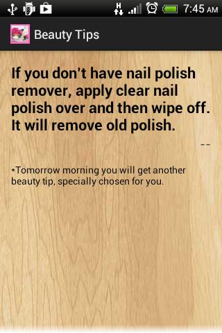 Free Beauty tips for women tip