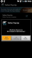 Screenshot of Tether Pop-Up β
