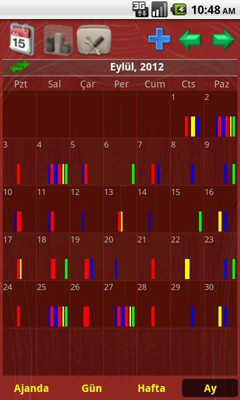 Akıllı Takvim + Widgets- screenshot