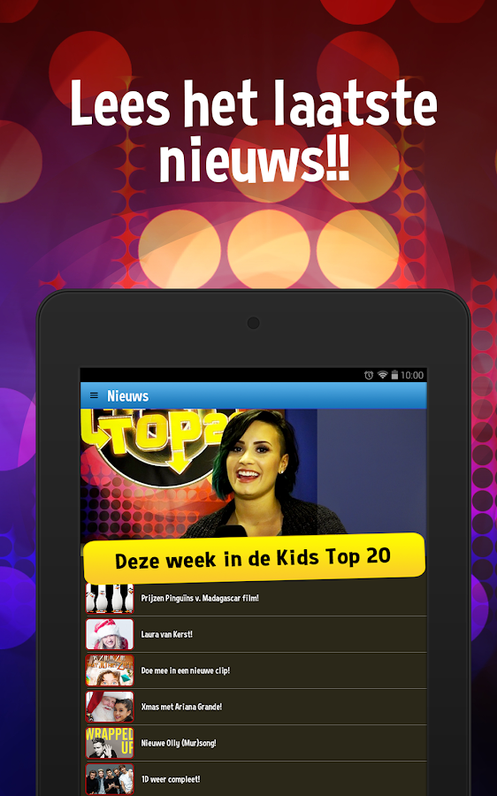 Zapp Kids Top 20- screenshot