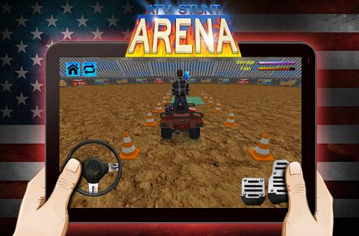 極端ATV特技舞台上3D