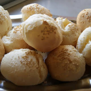 Cheese Buns with Sesame Seeds.