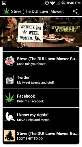 Steve The DUI Lawn Mower Guy
