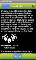Screenshot of Yorkshire Dales National Park