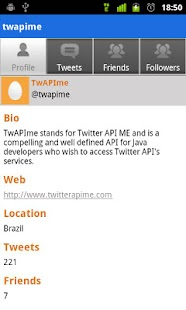 TwAPIme - screenshot thumbnail