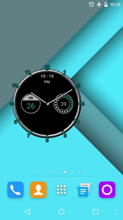 Super Clock Widget [Free] - screenshot