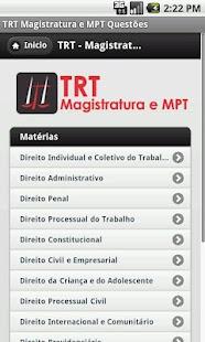 TRT - Magistratura e MPT- screenshot thumbnail