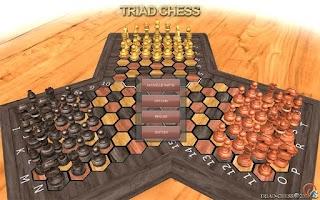 Screenshot of TRIAD-CHESS