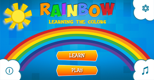 Rainbow - learning the colors