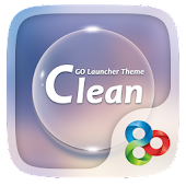Clean GO Launcher Theme