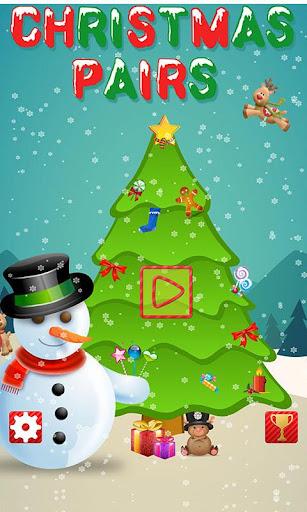 Christmas Pairs - Memory Match