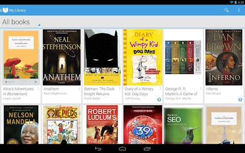 Google Play Books Screenshot 23