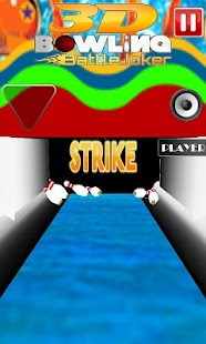 3D Bowling Battle Joker - screenshot thumbnail