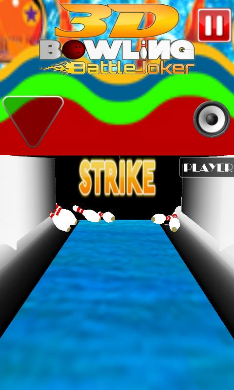 3D Bowling Battle Joker- screenshot