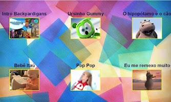 Screenshot of Videos Infantis