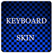 Blue Carbon Keyboard Skin