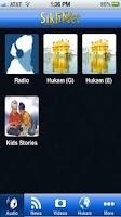 Screenshot of SikhNet Mobile
