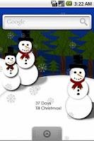 Screenshot of Christmas Countdown Live Wall