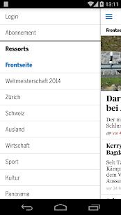 Tages-Anzeiger Screenshot 4