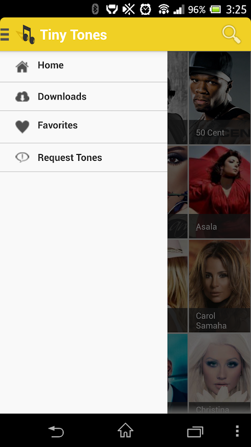 Ringtones - Tiny Tones - screenshot