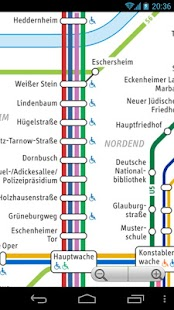Frankfurt Transport Map Free - screenshot thumbnail