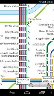 Frankfurt Transport Map Free - screenshot thumbnail