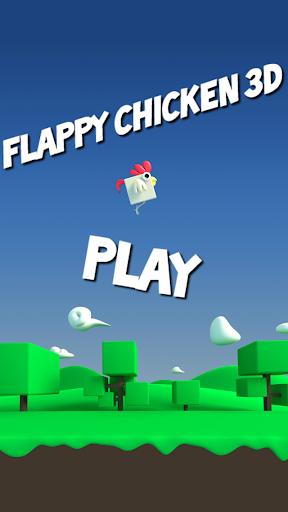 Flappy Chicken 3D - jump high