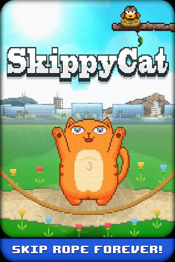 Skippy Cat - Skipping JumpRope