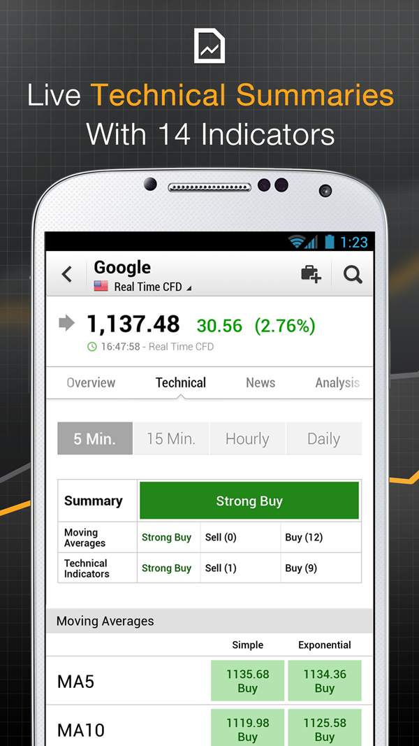 Stocks, Forex, Bitcoin, Ethereum: Portfolio & News Screenshot 5
