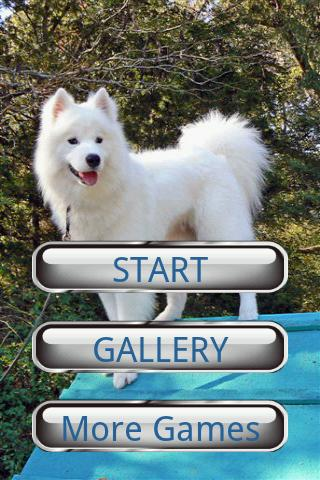 Dog Puzzle: Samoyed - screenshot