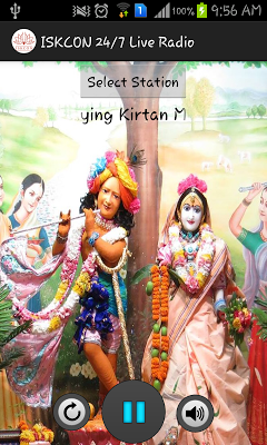 ISKCON 24/7 Live Radio Kirtans - screenshot