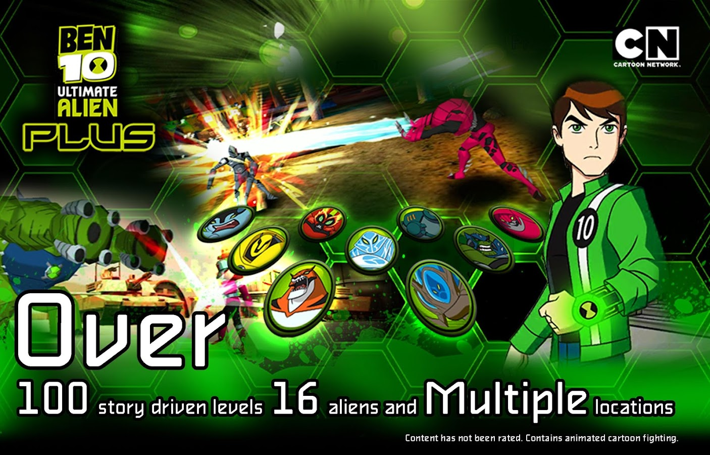 ben 10 ultimate alien two player fighting games