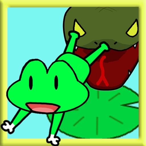 动作のカエルホップ! LOGO-記事Game