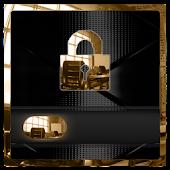 Luxurious Black & Gold Locker